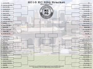 2016 KCFoodGuy KC BBQ Bracket