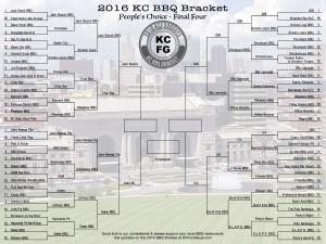2016 KC BBQ Bracket Final Four