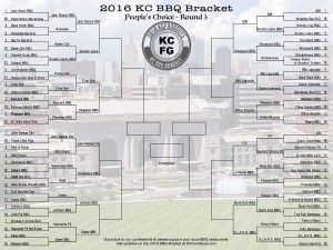 2016 People's Choice KC BBQ Bracket Round 3