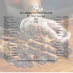 2017 KC BBQ Bracket Round 1 Results