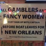 Riverboat Sign