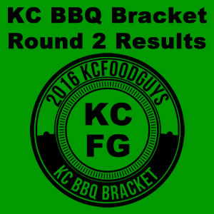 2016 KC BBQ Bracket Round 2 Results