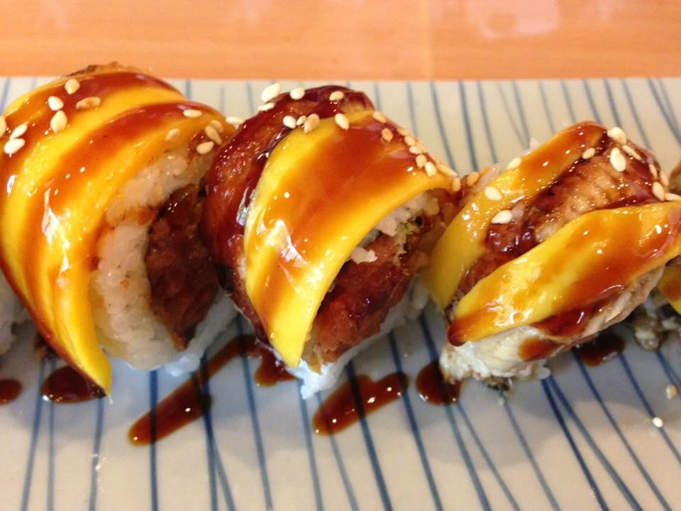 Unagi Mango Roll