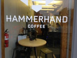 Hammerhand Brings Elite Coffee to Liberty